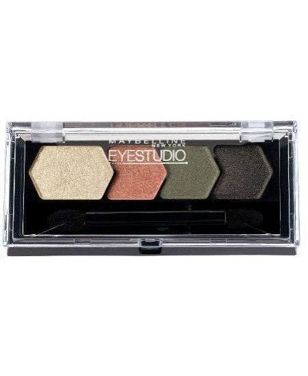 Maybelline Eye Studio Color Plush Silk Eyeshadow paletka oční stíny 5g